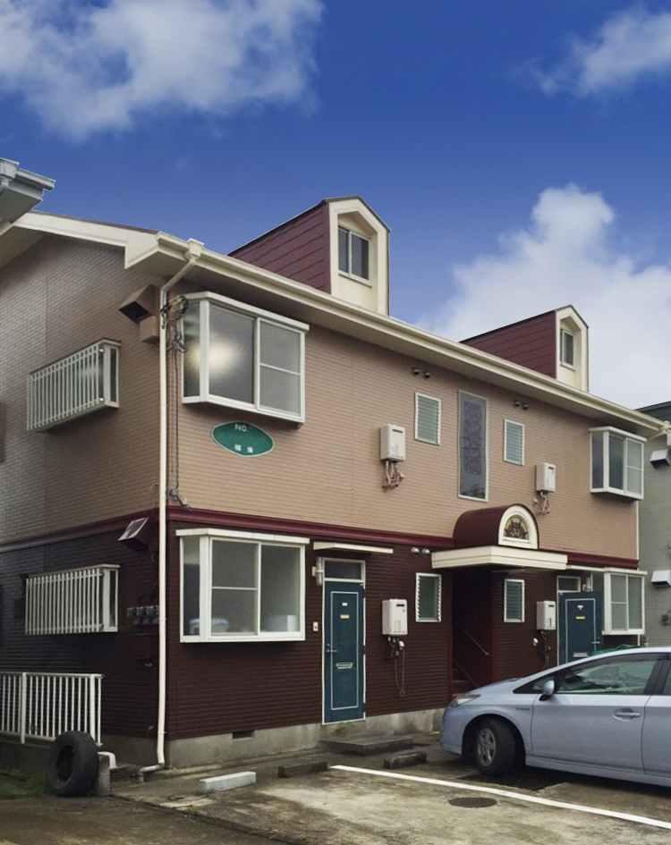 東金市アパート外壁塗装_170727_0002ab