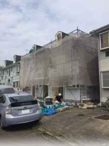 東金市アパート外壁塗装_170727_0005a