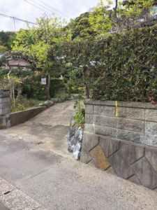 現調_いすみ市 駐車場拡張工事_170816_0012b