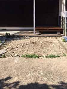 現調_いすみ市 駐車場拡張工事_18538528a