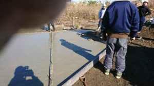 06新地倉庫 自社土間コンクリート打設工事_180108_0008