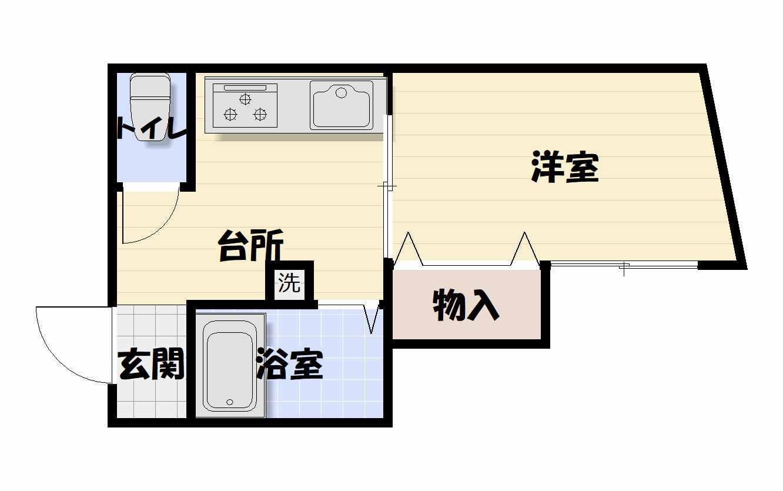 間取り101号室