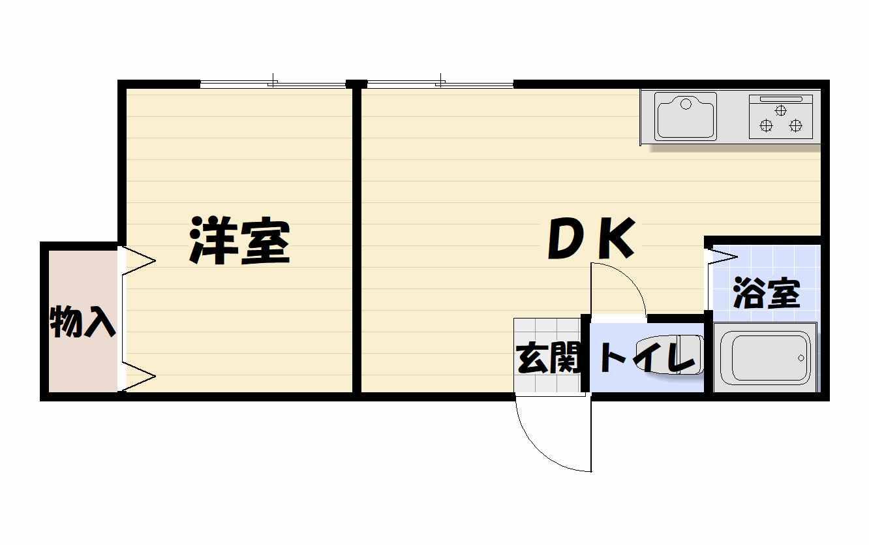 間取り103号室